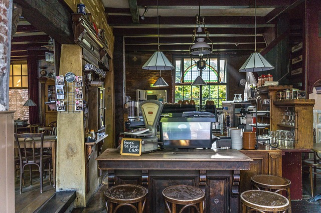 taburete madera bar